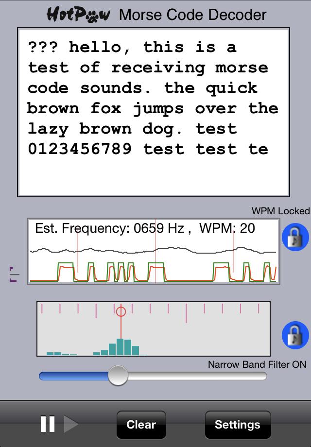 Arduino Playground - Morse