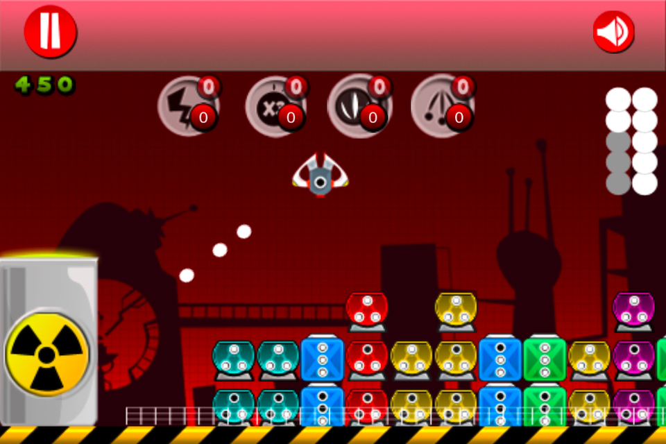 Screenshot iWar Nuclear Adventure Lite